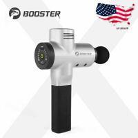 NEW Booster Pro X Muscle Massager Massage Gun Deep Tissue Sports Massage Gun