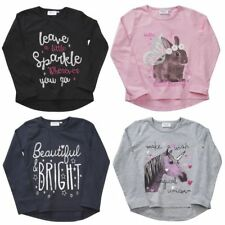 Girls Long Sleeve Printed Top / Unicorns/Rabbits etc age 2-3 up to 5-6 years