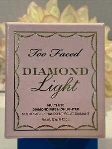 Too Faced Diamond Light Fire Highlighter Glow Diamond Pearls Sealed Fast/Free