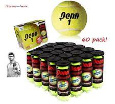 60 x Penn 1 Championship Tennis Balls Extra Felt 20 x 3 Ball CAN Brand New BULK