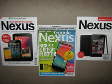 LOT of 3 ~ NEXUS Google ~ Instant Expert ~ Definitive Guide to ~ Complete $60
