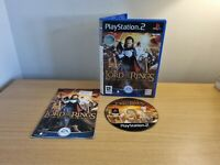 PLAYSTATION 2 - THE LORD OF THE RINGS - THE RETURN OF THE KING - COMPLETE -