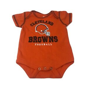 Cleveland Browns NFL Infant Baby Creeper Bodysuit Size 0-3M NWOT