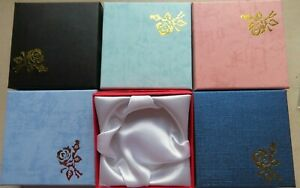 Wholesale  Boxes 12  - 36 48 For Bracelet / Bangle / Watch Embossed  9 x 9cm