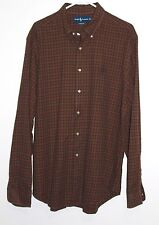 Men's Ralph Lauren Blue Label Plaid Classic Fit Shirt  Pony Size: XL Mutli Color