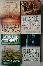 BERNARD CORNWELL.THE LAST KINGDOM.WILDTRACK.STORMCHILD.BLOODY GROUND.UNREAD,S/B