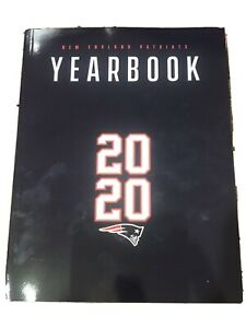 2020 NEW ENGLAND PATRIOTS OFFICIAL YEARBOOK