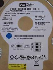 400GB Western Digital WD4000AAJB-00UHA0 DCM: DANCNV2CAB | 28 OCT 2007
