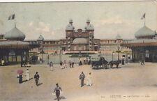 DIEPPE 141 LL le casino attelage timbrée 1906