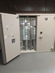 Large double safe used in new condition digital combination . Two available.