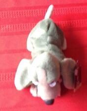 Special Edition Hush Puppies Pine Bean Bag Toy Sage Green Basset Hound Puppy Dog