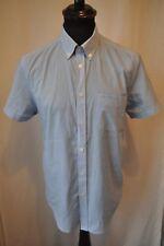 Ben Sherman blue check shirt size medium western rockabilly mod ska