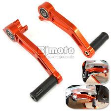 Orange Aluminium Brake Clutch Gear Pedal Levers For KTM DUKE 125 200 390 13-2017