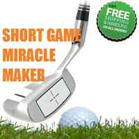#1 NEW CHIPPER SQUARE RIGHT HANDED WEDGE - Eliminate Fat & Thin Chip Strikes