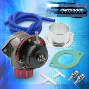 For Toyota 40mm Adjustable Vacuum Boost Turbo Blow Off Valve Bov Kit Type-Fv Red