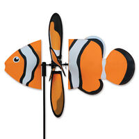 Clowne Fish Staked Petite Wind Spinner PR 25055