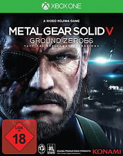 Metal Gear Solid V 5 - Ground Zeroes - Microsoft Xbox One - USK 18 - NEU