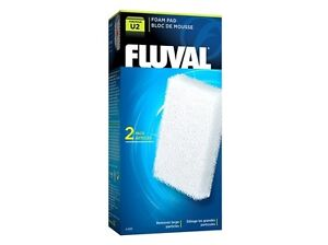 Fluval U2 Fish Turtle Tank Filter Foam Pad - 2 pk - A486