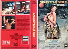 TRANSFORMATIONS (1989) VHS