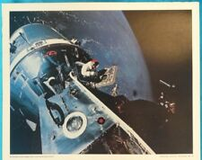OFFICIAL NASA PICTURE #6 *APOLLO 6 SCOTT FROM HATCH