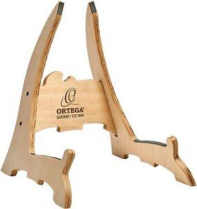 Ortega Birch Wood Guitar Stand, Natural Bright - OWGS-2