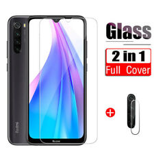 Lens Tempered Glass + Screen Protector Film For Xiaomi Redmi 9 9 A Note 9S 8 Pro