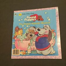 Pound Puppies The Puppy Nobody Wanted Big Little Golden Book Kids Book 1986