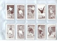 Association Football Ser 2  Churchman 1939 complete tobacco card set lot vintage