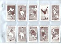 Association Football Ser 2  Churchman 1939 complete tobacco card set lot vintage