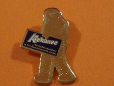 New listing Kokanee Beer Sasquatch Big Foot Hat Pin Vtg Nos Enamel Tm Badge Brewery Promo