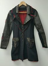 RARE VEGAN GRUNGE BOHO COUNTRY REBEL MILITARY COAT JACKET OLD COTTON CARGO  S/0