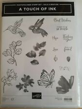 Stampin' Up A TOUCH OF INK 17 Photopolymer stamps--NEW!!  Sale-a-Bration