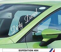 dirty diesel JDM 25 cm - autocollants Stickers adhésifs pour voitures