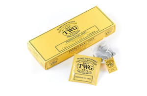 TWG Tea from Singapore - FRENCH EARL GREY - 15 Cotton Tea Bags