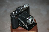 Zeiss Ikon Nettar 517/16 6x6 Folding Camera Vario Novar-Anastigmat 75mm 1:6,3
