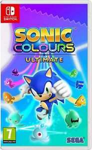 Sonic Colours Ultimate (Switch) Brand New & Sealed UK PAL