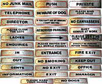 Sortie Exit Novelty Road Sign REPRODUCTION NOUVEAUTÉS DE ROUTE