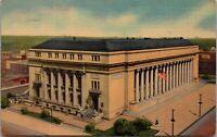 Denver, Colorado, CO, Post Office, 1944 Linen Vintage Postcard Rare UNPOSTED