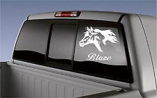Custom Horse Name Sticker Horse Trailer Truck Window Rv Camper Decal Sticker