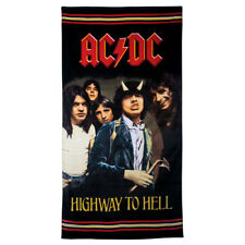 ACDC Highway to Hell Beach Towel Bath Gym Shower Christmas Gift Collectors