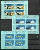 s32085) GERMANY ddr 1988 MNH** USSR DDR space cooperation s/s x 3