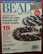 Bead & Button 15 Projects Loomwork Tips for leather August 2014 FREE SHIPPING