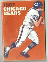 1967 Chicago Bears Football Media Guide, Gale Sayers Dick Butkus GOOD
