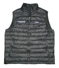 PATAGONIA Quilted PUFFER Vest GOOSE DOWN Fill Insulated BLACK Jacket Mens NEW XL