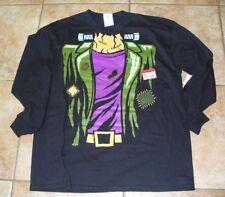 Boys Frankenstein Size XL 18 Long Sleeve T-Shirt Halloween New