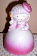 "Vintage ""Beautiful Dreamer"" Porcelain Girl Music Box ~ Made in Japan"