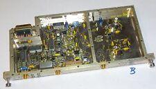 HF RF Platine/ Baugruppe m. 3 SMA Buchse u. hochwertige  vergoldet ( Mod B )
