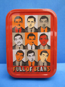 Brand New MR BEAN Metal Storage Tobacco Tin By Classic Entertainment