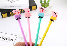 2 x Peppa Pig fine point pen Party Cute Kids novelty stationery Cool 4 Designs