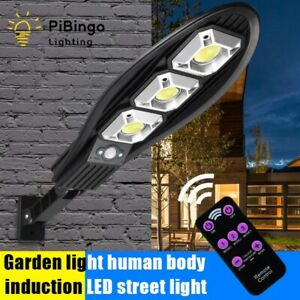 LED Solar Light Waterproof Induction Wall Lamp 90 COB Solar Powered Street Light